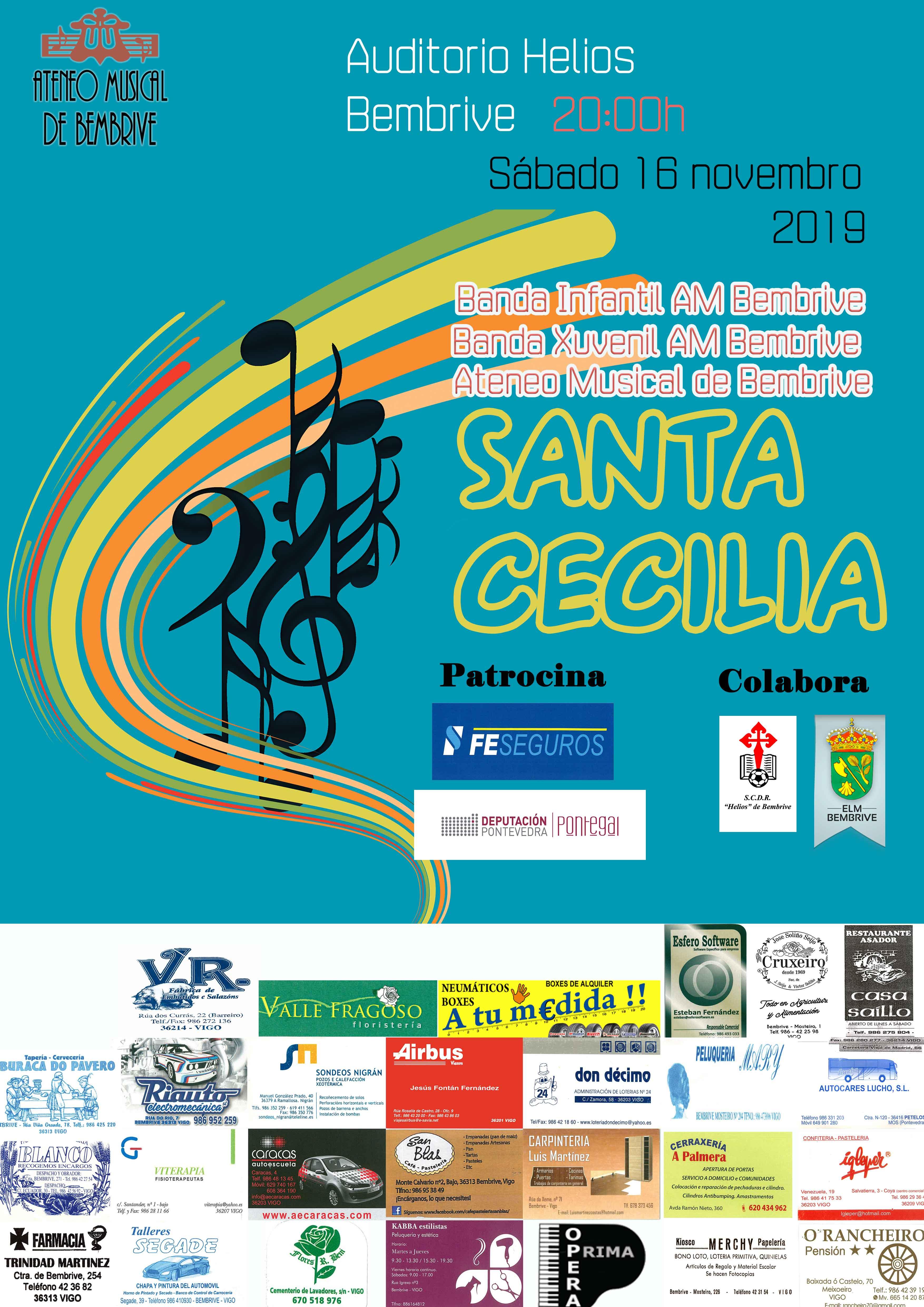 Sta Cecilia 2019