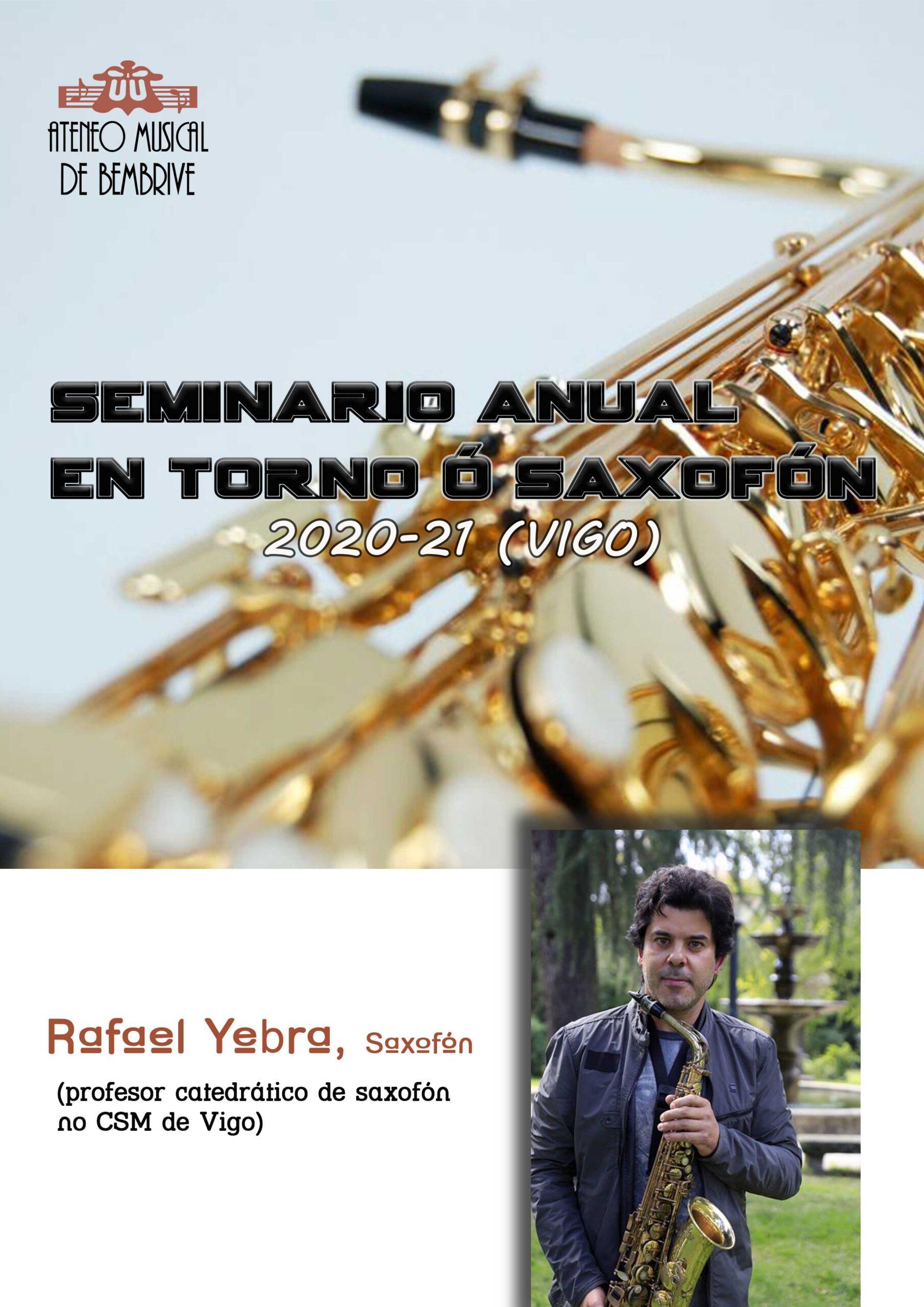 Seminario Anual En Torno Al Saxofón 2020-21